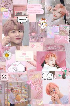 Peach Aesthetic, Kpop Aesthetic, Pink Wallpaper, Galaxy Wallpaper, Aesthetic Iphone Wallpaper, Aesthetic Wallpapers, Nct Group, Nct Dream Jaemin, Jisung Nct