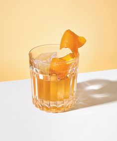 smoky brown butter old fashioned