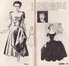 Vintage Pattern Catalog Booklet Spadea 1950's  54 Pages of Mind Blowing Gorgeous Fashion PDF copy. $5.00, via Etsy.
