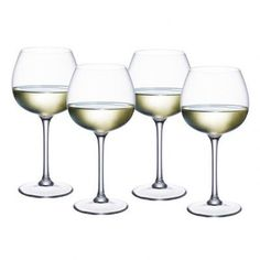 Villeroy & Boch Purismo Soft and Rounded White Wine Glass
