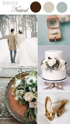 6 Practical Wedding Color Combos for Fall 2015 Winter Wedding Colors, Winter Wedding Inspiration, Winter Weddings, Winter Colors, Winter Maternity Outfits, Winter Outfits Women, Wedding Themes, Wedding Styles, Wedding Tips