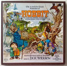 The Hobbit: The Complete Original Soundtrack LP Vinyl Record Album, Buena Vista Records - 103, Box Set, 1977, Original Pressing