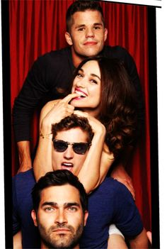 It's safe to say that the Teen Wolf cast is the cutest. #Moonday