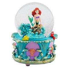 Disney Snow Globes | Disney Princess Ariel Mini Snow Globe
