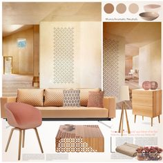 """""""Patterns & Neutrals"""" by snowbell on Polyvore"""