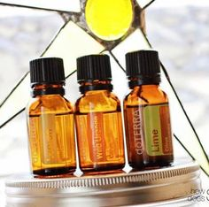 Natural glass cleaner recipe:  1 cup white vinegar  1 cup water  8 drops citrus oil (Lemon, Wild Orange, Lime, or Grapefruit)  Combine all ingredients in a spray bottle (glass is best) and shake well before use.