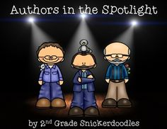 Newly Updated Authors in the Spotlight -- Now contains 24 biographies of popular children's authors! $