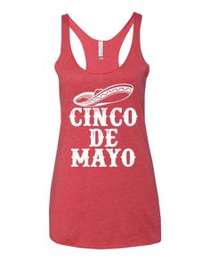 83f880e16b89a6 Cinco De Drinko. Cinco De Mayo Shirt. Cinco De Mayo Tank. Cinco De Mayo.  Taco Tuesday Tank. Tacos and Tequila