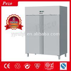 PEZO 2 door 1400 liters upright freezer and refrigerator