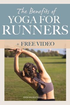 Yoga for Runners: here's why your knees, hips and back hurt from running and how you can use yoga to support your body, and keep up your favourite form of cardio. Includes 4 free videos! #runningtips #yogaforrunners #running Wellness Tips, Health And Wellness, Yoga Fitness, Fitness Tips, Become A Yoga Instructor, Yoga Playlist, Back Hurts, Yoga For Runners, At Home Workouts