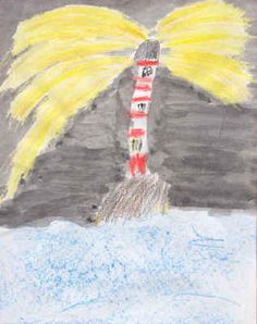 Lighthouses Year 2 examples of work Lighthouse Keepers Lunch, Light House, Year 2, Primary School, Grinch, Storytelling, Seaside, School Ideas, Boats