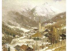 Thomas Kinkade Heilegen Blut Austria Painting Limited Edition Canvas