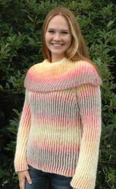 Brioche Flame Sweater