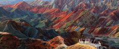 Paisajes de Danxia, China