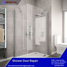 American Window Glass Repairs have years of experience, and we can assure you that we will give you the best shower door repair at Virginia. https://goo.gl/Za2CW1