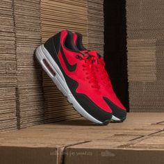 online retailer 67036 42954 Nike Air Max 1 Ultra 2.0 Essential University Red  Black-White Air Max 1