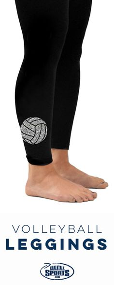 Be stylish and comfortable in our #volleyball leggings! Volleyball players will love to wear these leggings to show off their love for their favorite sport!