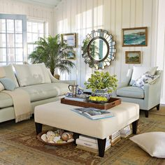 I own this sofa-VERY UNCOMFORTABLE! #MGBW (Mitchell Gold + Bob Williams) for Williams Sonoma Home.