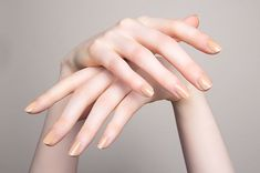 """The HIPP x RGB collection was the first to address """"nude"""" nail polish for all skin tones, from very dark to very light. And the shades are so on point that they're still our go-to for any neutral nail look. See all the shades here."""