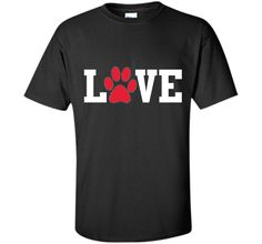 "Cool ""Love"" Paw Prints Pet / Dog / Cat Lover's T-shirt t-shirtFind out more at https://www.itee.shop/products/cool-love-paw-prints-pet-dog-cat-lovers-t-shirt-t-shirt-custom-ultra-cotton-b01cq5db16 #tee #tshirt #named tshirt #hobbie tshirts #Cool ""Love"" Paw Prints Pet / Dog / Cat Lover's T-shirt t-shirt"