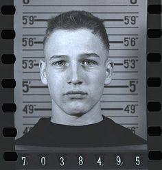 Paul Newman (military, not a mug shot) via sexy dead guys by adela