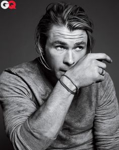 Chris Hemsworth #GQ #mensfashion