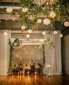 Wunderschöne Hochzeitsdeko!