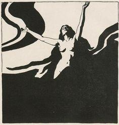 Ernst Stöhr (1860-1917) illustration for 'Ver Sacrum', 1898