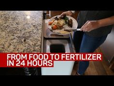 This speedy composter turns food one day into fertilizer the next - YouTube