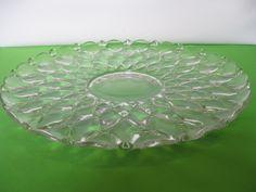 "Vintage Elegant Heisey Glass Wampum #1533 Crystal Flared 14"" Gardenia Bowl #bonanzateamsellit hazeleyes767"