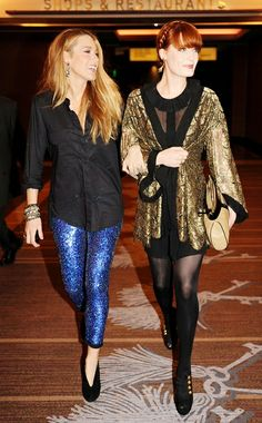 blake lively & florence welch
