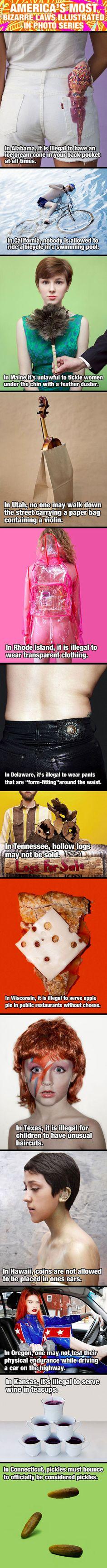 America's most bizarre laws.
