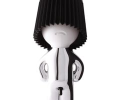 Mr P Table Lamp Silver / Black | Tododesign by Arq4design