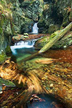 Vodopády Stříbrného potoka - velký vodopád, Rychlebské hory Prague, My Heritage, Czech Republic, Homeland, Waterfall, Hunting, Traveling, Nature, Outdoor