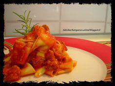 Pappardelle al ragù di Cinghiale ~ Fabio Barbato Personal Chef