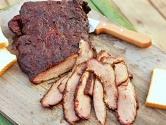 Tony's Smoked Beef Brisket Recipe : Patrick and Gina Neely : Food Network - FoodNetwork.com