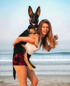 GSD Puppy Selena Gomez Gif, Hannah Stocking, Girl Senior Pictures, Popular People, Gsd Puppies, Aesthetic Hair, Instagram Girls, Celebrity Pictures, Hilarious Animals