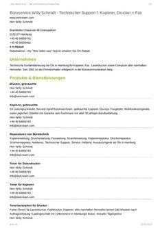 BüroService Willy Schmidt - Technischer Support für Kopierer, Drucker, Fax + Toner-BüroService Willy Schmidt - Technischer Support für Kopierer, Drucker, Fax + Toner