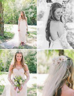 beautiful upcycled wedding dress by Urchin ReDesign - Solvang Ranch Wedding: Jillian + Adam