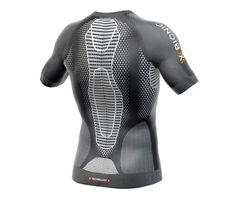Camiseta X-Bionic TWYCE Running Shirt M/C Negro/Blanco