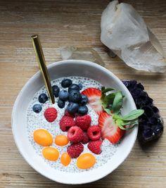Vegan Berry Chia Pudding