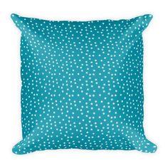 Stars Blue Pillow