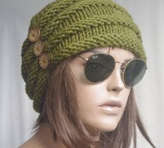 Winter hat Womens Hats chemo Hat child knit hat taupe beret Hat cable brown Slouch Beanie Cable Women Hat Oversized Hat Cable Hat Chunky – Nuria Grau – Join in the world of pin Crochet Cupcake Hat, Crochet Beanie Hat, Beanie Hats, Crochet Hats, Slouch Beanie, Free Crochet, Crochet Birds, Flower Crochet, Crochet Bear
