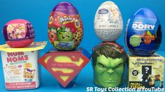 Toys Surprise Superman Hulk Num Noms Series 2 Minecraft My Little Pony D...