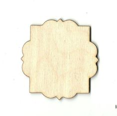 Decorative Wall Plaque Laser Cut Unfinished by TheWoodShapeStore