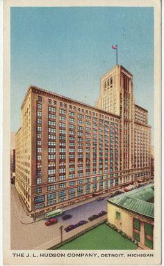 Hudson's - downtown Detroit