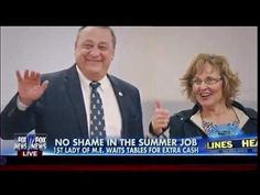 No Shame In The Summer Job - 1st Lady Of Maine Waits Tables For Extra Cash - Fox & Friends | CNN