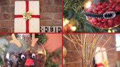 4 Easy Christmas DIYs & Gift Ideas   LaurDIY