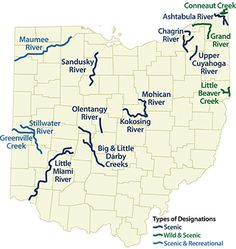 Kayaking resources in Columbus and the rest of Ohio, including where to kayak and information about Ohio waterways.
