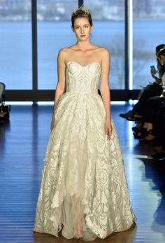 Francesca Miranda Bridal Spring 2017 | #BridalFashionWeek #WeddingDress [Photo: Rodin Banica]
